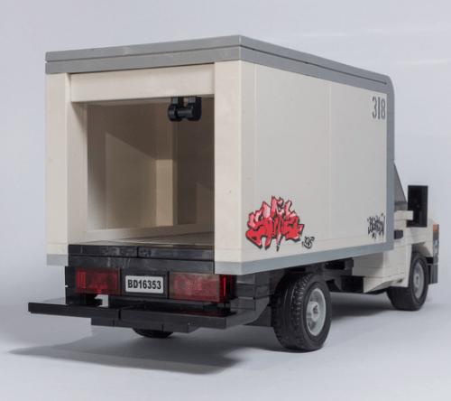 Lego Ford Box Van