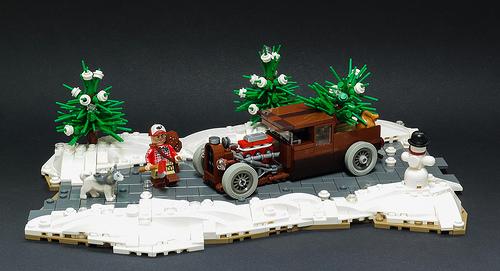 Lego Hot Rod Pick-Up