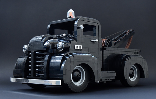 Lego 1950s Tow Truck