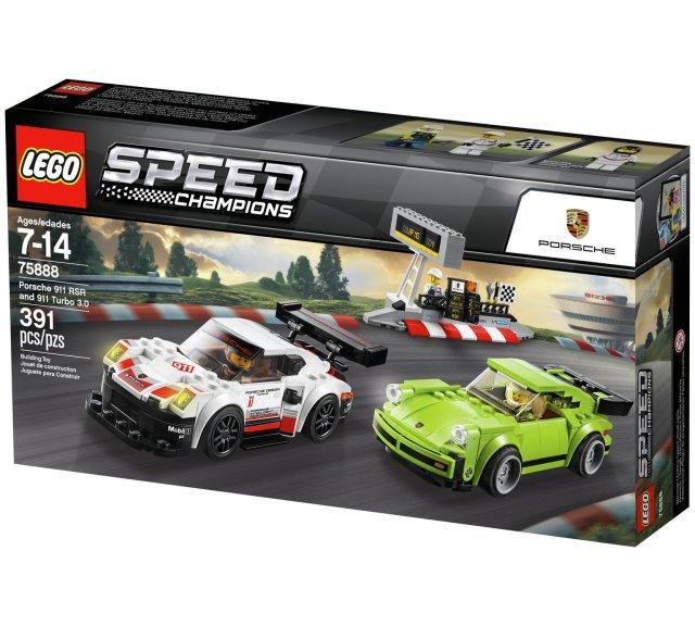 Lego 75888 Speed Champions Porsche 911 RSR & 911 Turbo 3.0