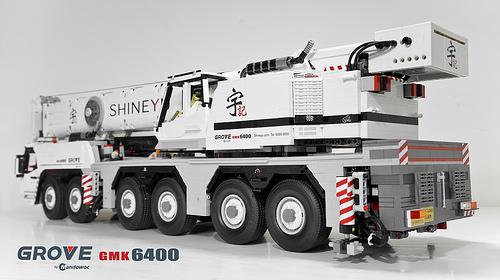 Lego Grove GMK 6400 Crane Remote Control