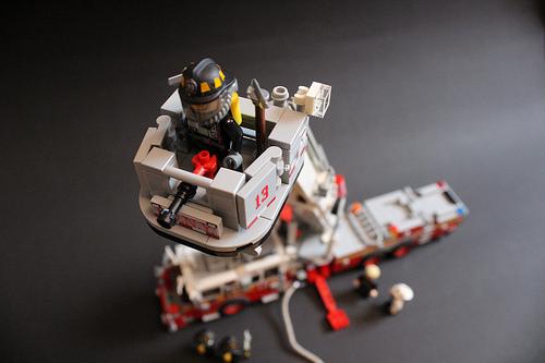 Lego Seagrave Marauder II Fire Truck