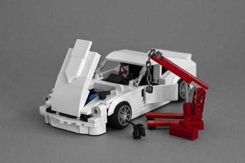 Lego Datsun 240Z Fairlady