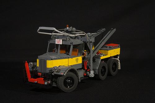 Lego Mack LMSW 6x4 Wrecker