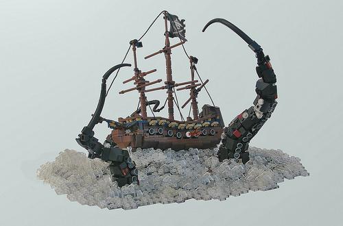 Lego Pirate Ship Kraken