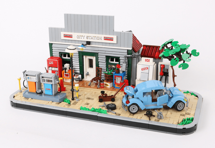 Lego Gas Station