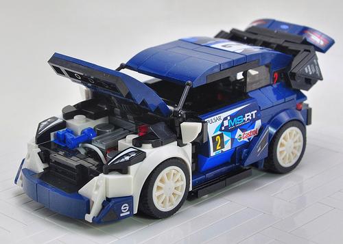 Lego Ford Fiesta M-Sport WRC