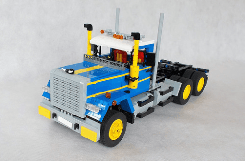 Lego Mack Superliner 6x6 RC