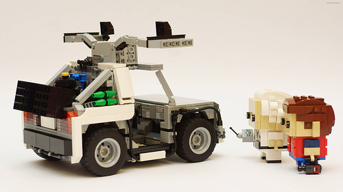 Lego Brickheadz DeLorean Back to the Future