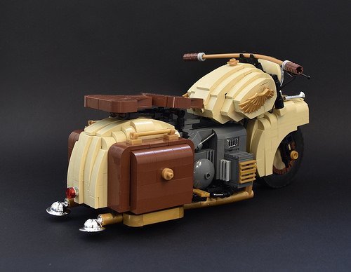Lego Dispatch Bike
