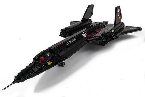 Lego SR-71 Blackbird
