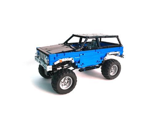 Lego Trial Truck 4x4
