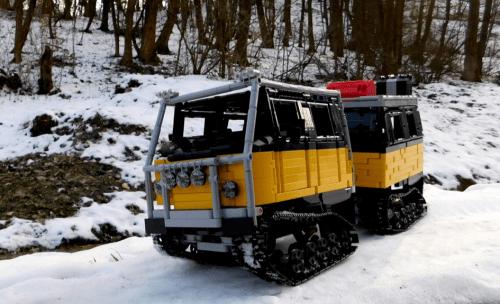 Lego Technic Hägglunds BV 206 ATV