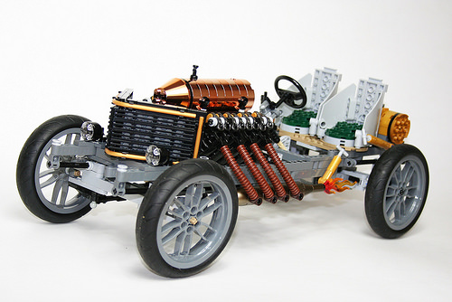 Lego 1905 Darracq 200hp