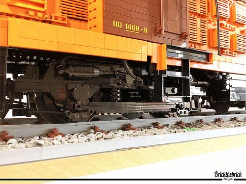 Lego CP 1408 Locomotive