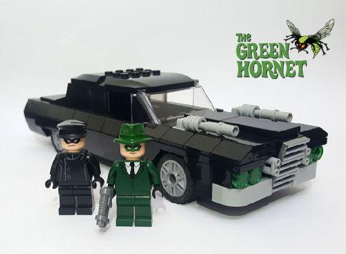 Lego Green Hornet Black Beauty