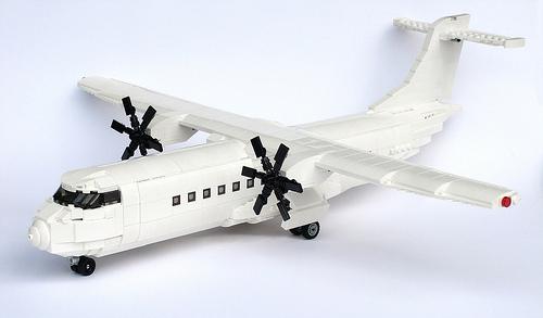 Lego ATR 42 Aircraft