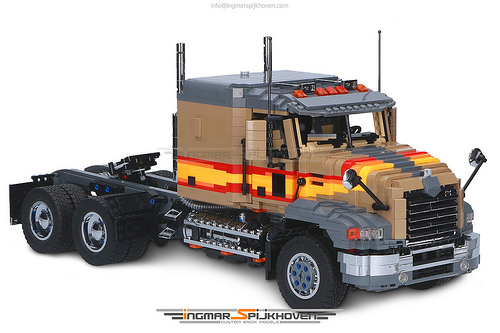 Lego Model Team Truck RC