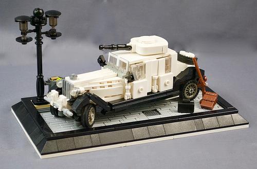 Lego Rolls Royce Armoured Car