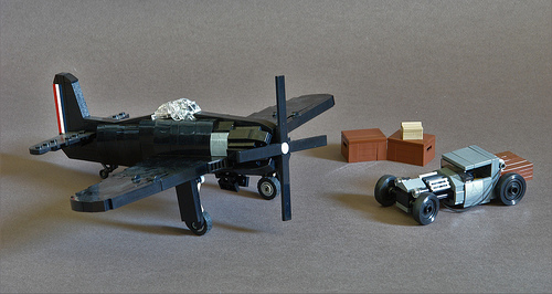 Lego Aircraft Rat Rod