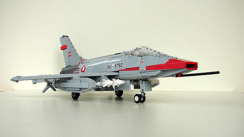 Lego North American F-100D Super Sabre