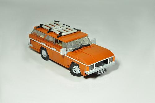 Lego Ford Granada Mk1
