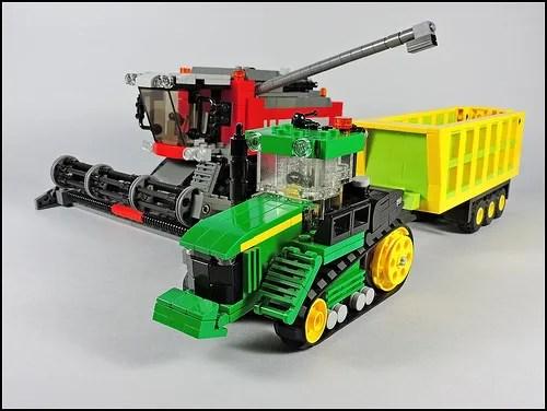 Lego Combine Harvester Tractor