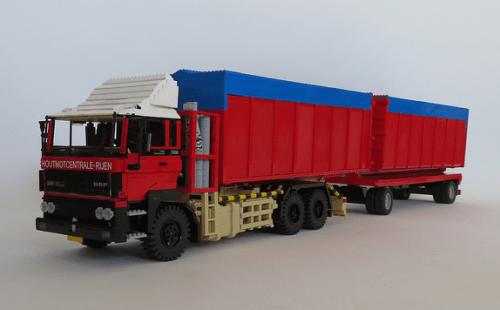 Lego DAF FAs 2500 Truck