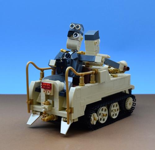 Lego Afrika Korps Kettenkrad