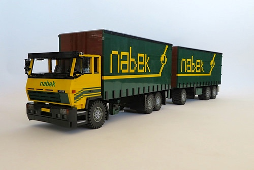 Lego STEYR 26s37 Truck
