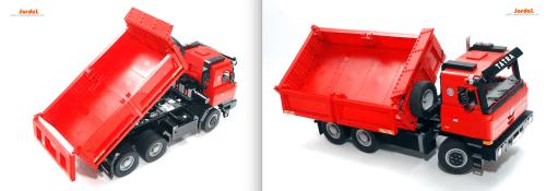 Lego Tatra 815 Tipper Truck RC