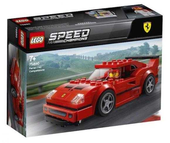 LEGO 75890 Speed Champions Ferrari F40 Competizione