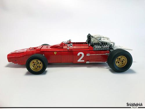 Lego Ferrari 312 Formula 1