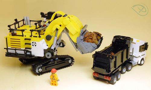 Lego Mining Excavator