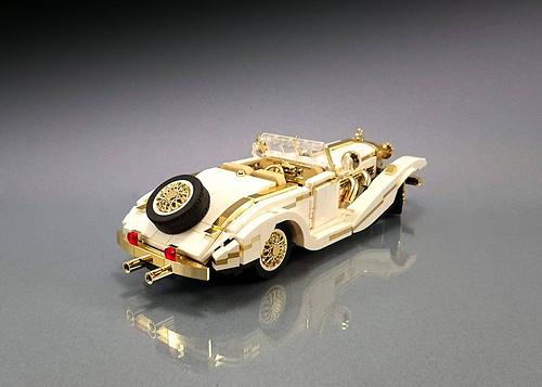 LEGO 1936 Mercedes-Benz 500K Special Roadster