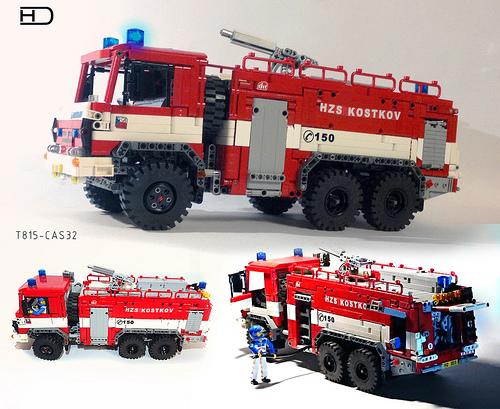 Lego Technic Tatra T815 Fire Truck