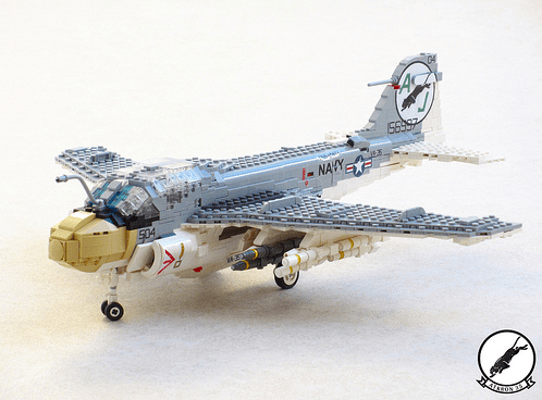 Lego A-6E Intruder VA-35 Black Panthers