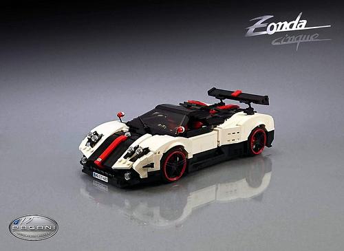Lego Pagani Zonda Cinque
