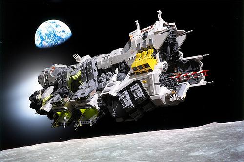 Lego Ugly Ducking Spaceship
