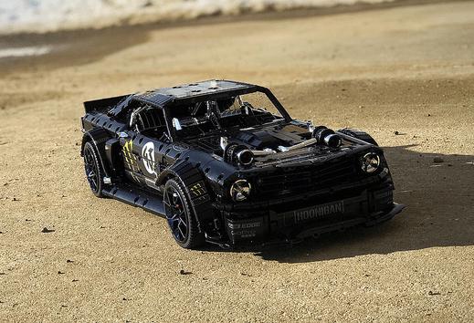 Lego Ford Mustang Gymkhana Ken Block Hoonicorn