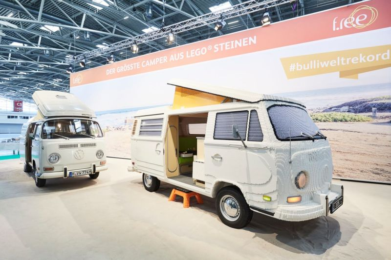 Life-Size LEGO Volkswagen T2 Camper