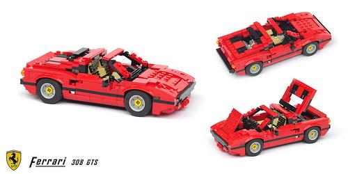 Lego Ferarri 308 GTS
