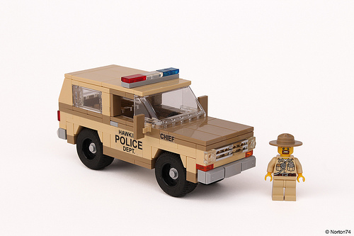 Lego Chevrolet Blazer K5 Stranger Things