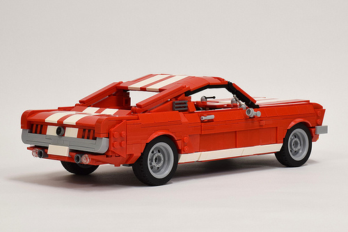 Lego Ford Mustang GT Fastback