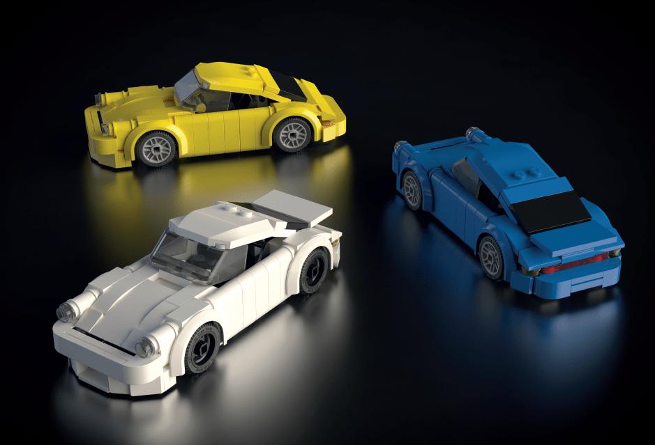 Lego Porsche 911 Instructions