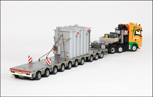 Lego MAN TGX Truck
