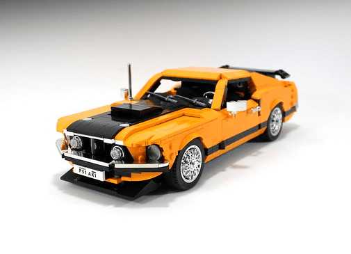 Lego Ford Mustang Mach 1 Cobra Jet
