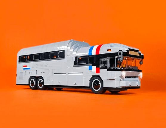 Lego 1959 Salem Ameriliner Library Bus