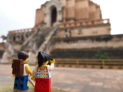 Outside the Chedi ruins