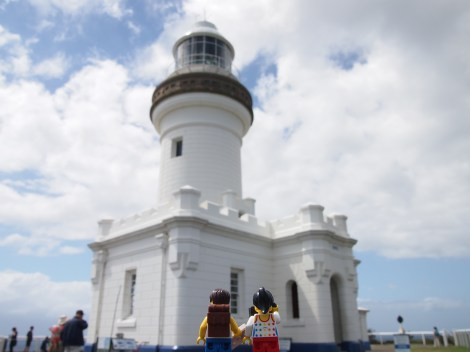 Cape Byron lighthouse, near the easternmost point of the mainland